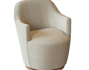 3D model Elton Chenille Chair