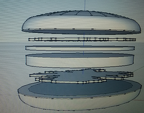 3D printable model Vegburger