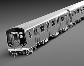 NYC Subway R160 3D