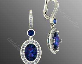 Earrings pl17 3djewel 3D printable model