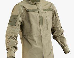 Military Jacket Desert 3D asset