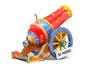 Circus Cannon 3D