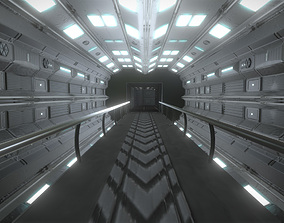 Sci fi Level design 3D asset