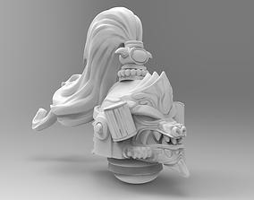 space khan helmet 3D printable model