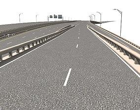 3D model Freeway Section