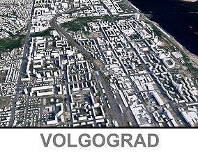 Volgograd City 3D model