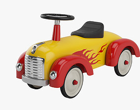 3D model Riding toy car