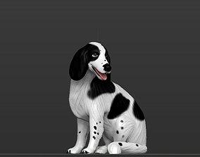 Dog - 3D figurine model