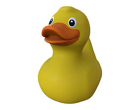 turbo yellow rubber duck print 3D printable model