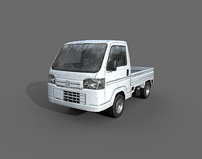 Low Poly Car - Honda Acty Vamos Truck 2012 3D asset
