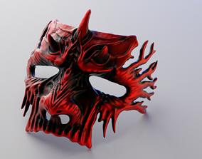 3D printable model Dark Fantasy Demon Mask