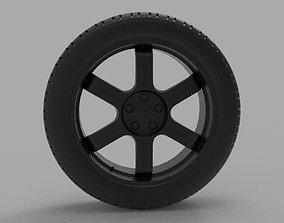 Nissan GT-R SpecV R35 3D print model
