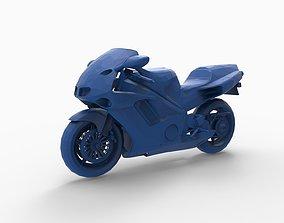Motorcycle mod15 3D printable model