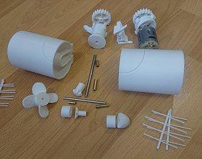 3D print model bowthruster mjs2008 Bow Thruster 30-50mm