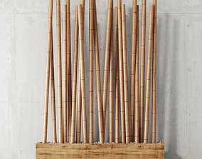 Bamboo decor two Awie Divider 3D