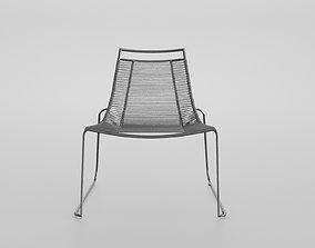 ilba armchair 3D model