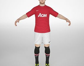 Wayne rooney 3D model