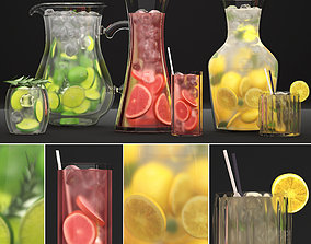 Beverages Collection 3D model