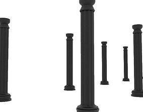 3D Greek Pillar