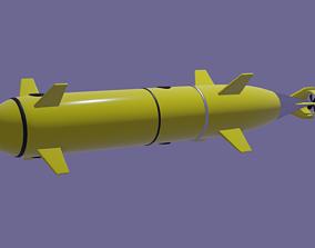 Subsea ROV AUV 3D model