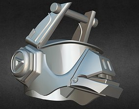Fortnites DJ Yonder Fortnite helmet 3D print model
