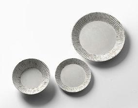 Plates by Akio Nukaga 3D akio