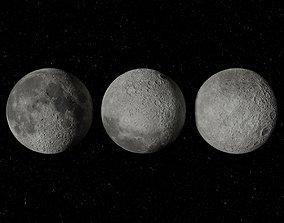 3D model Moon 4K Textured