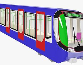 3D Funicular - mountain railway
