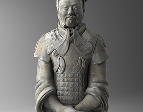 Terracotta Chinese Warrior 3D model