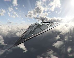 3D model VR / AR ready SR-72 Hypersonic Concept