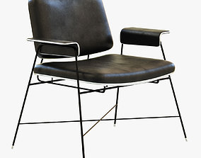 3D model Baxter Bauhaus black