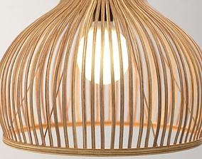 3D Bamboo lamp Odeon Light Alamo wooden