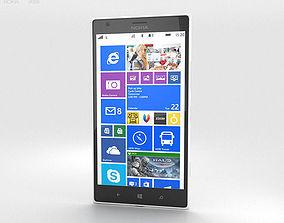 3D Nokia Lumia 1520 White