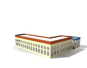3D Office Building structure