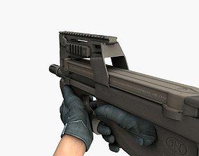 SMG P90 3D model