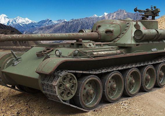 Tank Uralmash SU 101 Russian Corona