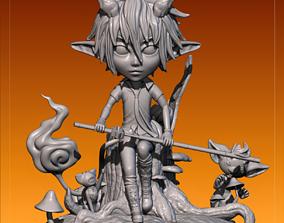 Blue Exorcist 3D print model