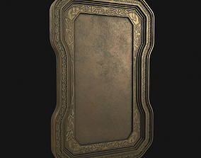 Picture frame 3D model painting
