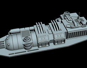 Starship Detail 5 3D