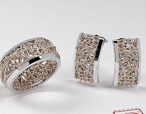 Jewelry Set Math 3D print model