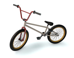 Bicycle 3D model bicycle bmx