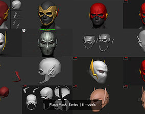 Flash Mask Series 3D model