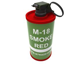 3D print model M18 SMOKE GRENADE