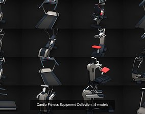 3D model Cardio Fitness Equipment Collection