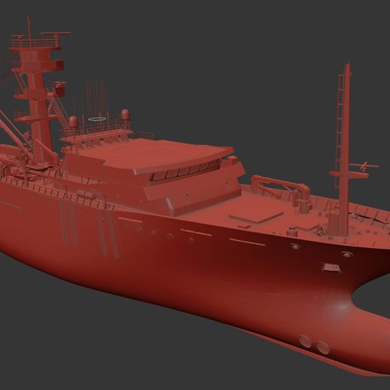 offshore _ vessel raw model