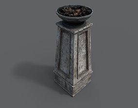 3D model realtime Fire column