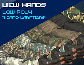 First Person View Hands 3D model realtime
