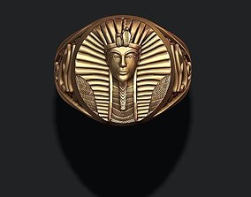 3D print model Pharaoh ring