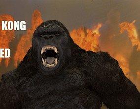 3D asset KING KONG SKULL ISLAND MODEL