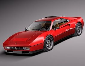 Ferrari 328 GTB GTS 1985-1989 3D model